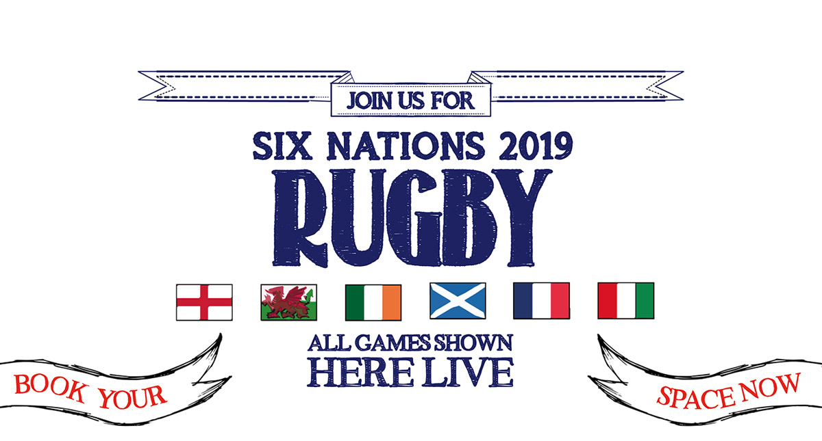 Watch the 6 Nations at The Angel Inn in London